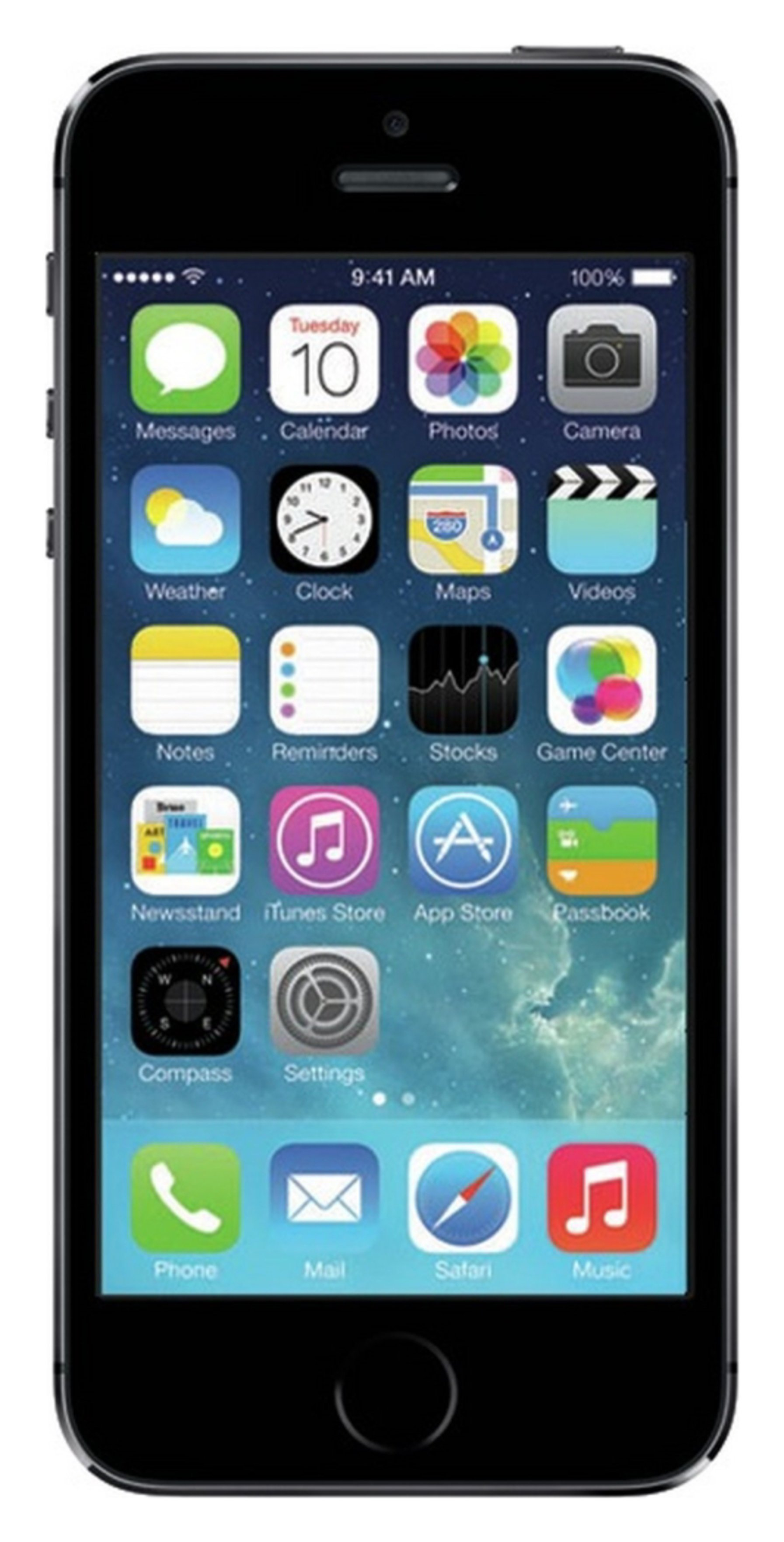 SIM Free iPhone 5S 16GB Pre-Owned Mobile Phone - Grey