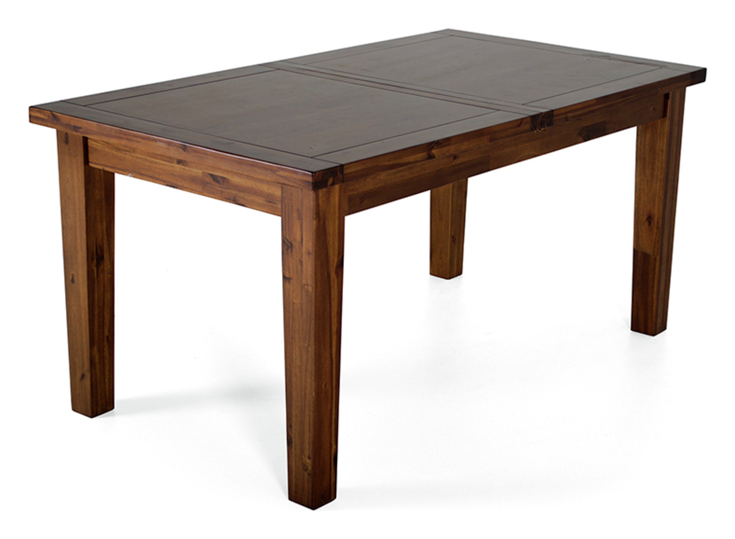 Image of Furnoko Emerson Extendable Solid Wood 8 Seater Table -Walnut