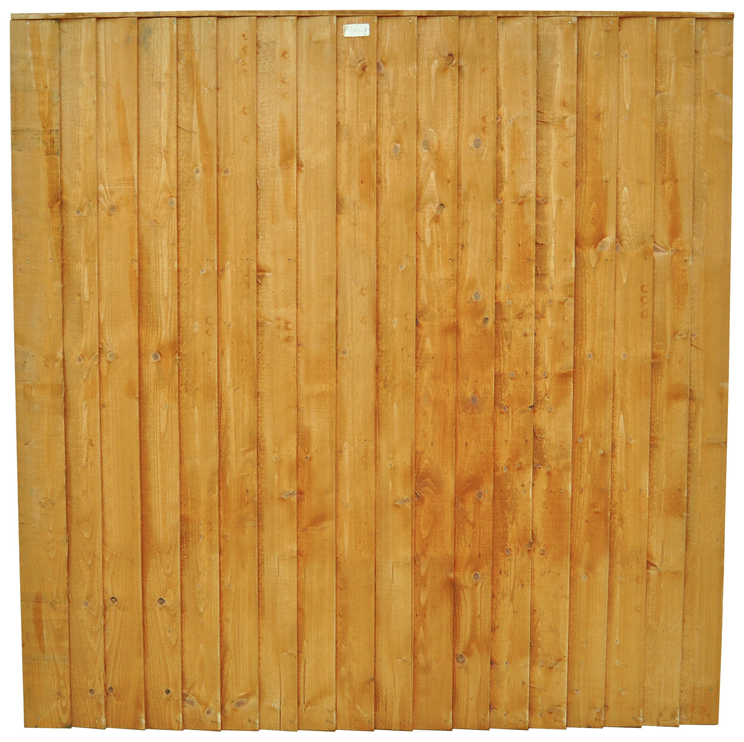 Forest Featheredge 1.8m Fence Panel - Pack of 4