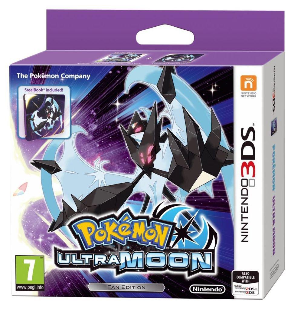 Pokemon Ultra Moon Steelbook Edition 3ds Game 7423295 Argos