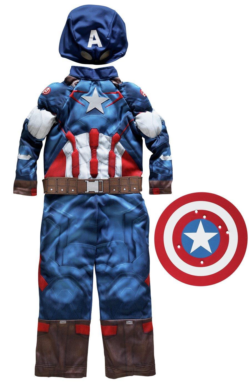 Marvel Captain America Fancy Dress Costume - 5-6 Years