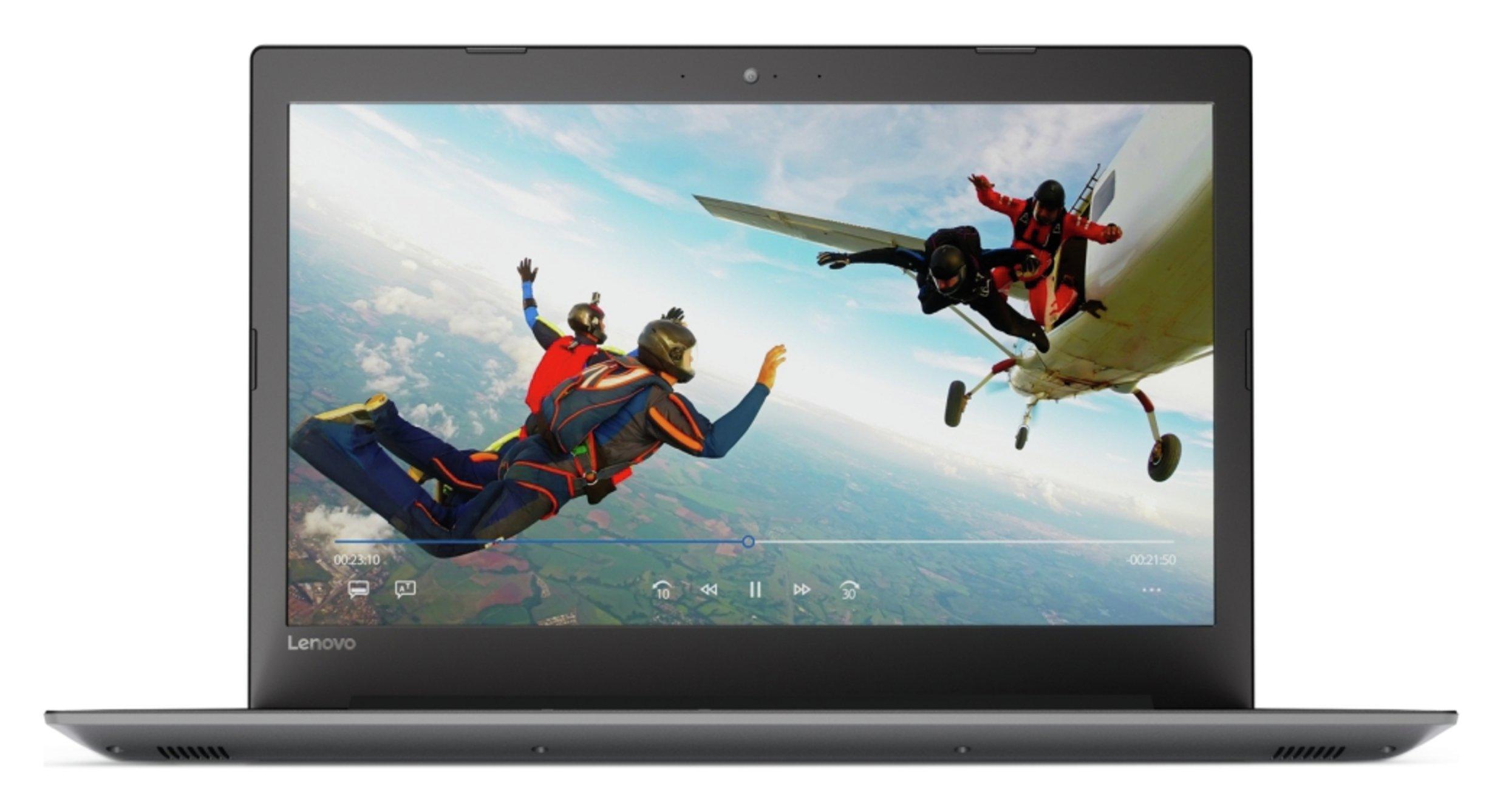 Lenovo 320 17.3 Inch AMD A4 8GB 1TB Laptop - Black