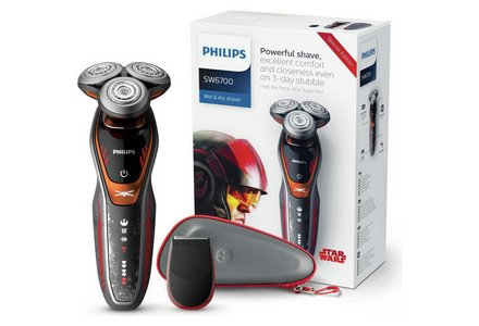 Philips Star Wars X Wing Wet and Dry Electric Shaver SW6700