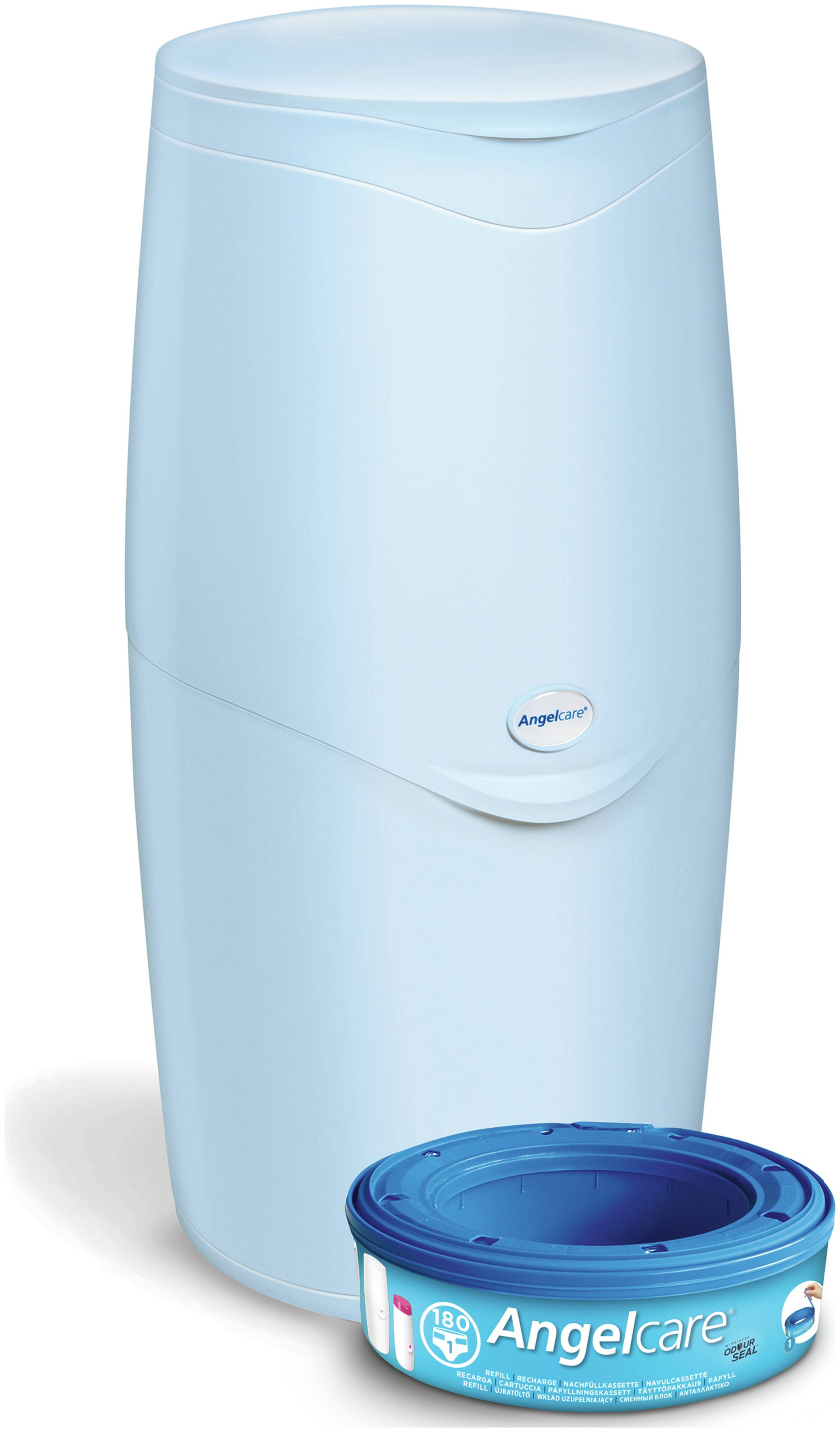 Image of Angelcare Nappy Disposal System - Blue