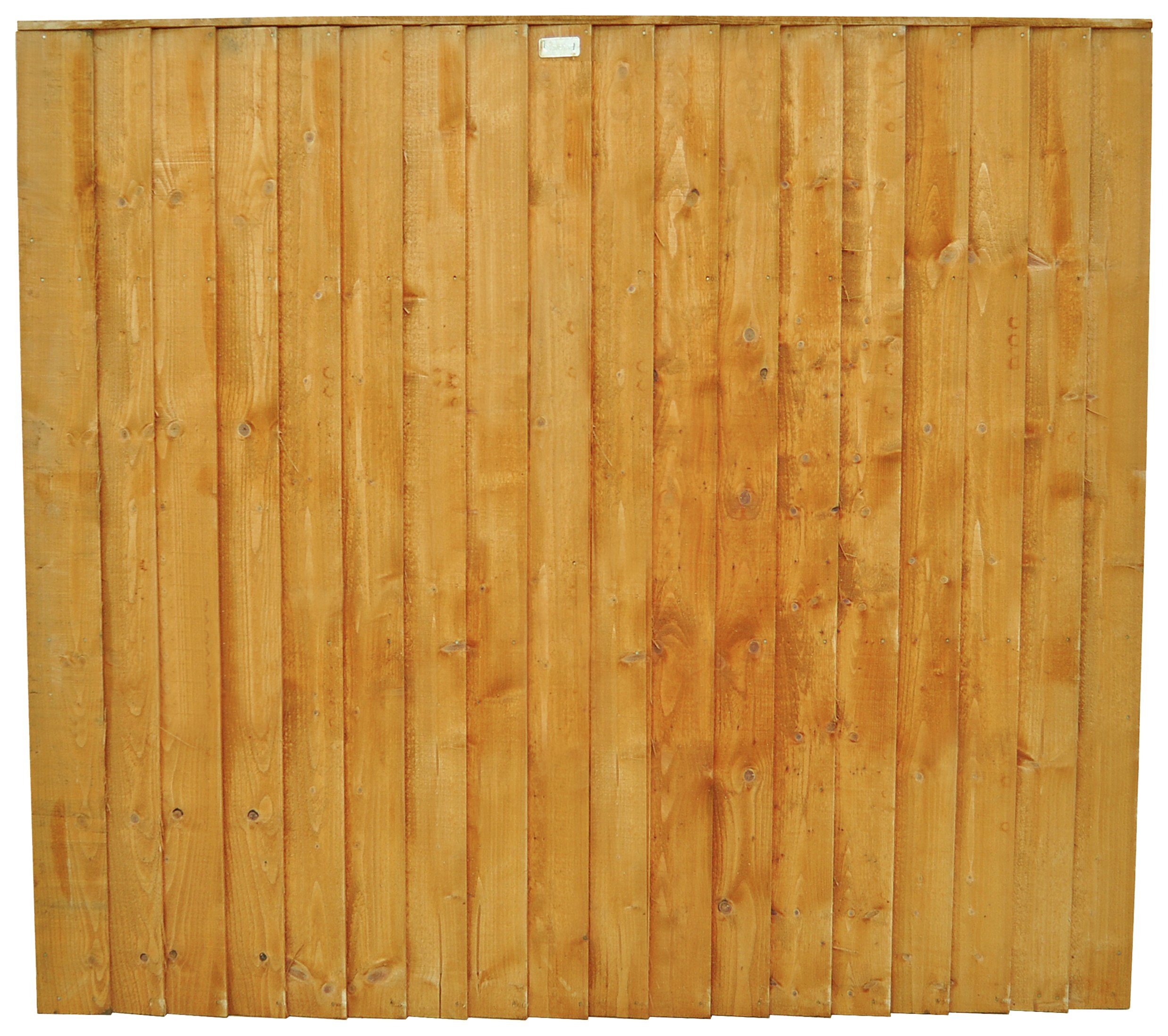Forest Featheredge 1.5m Screen - Pack of 6