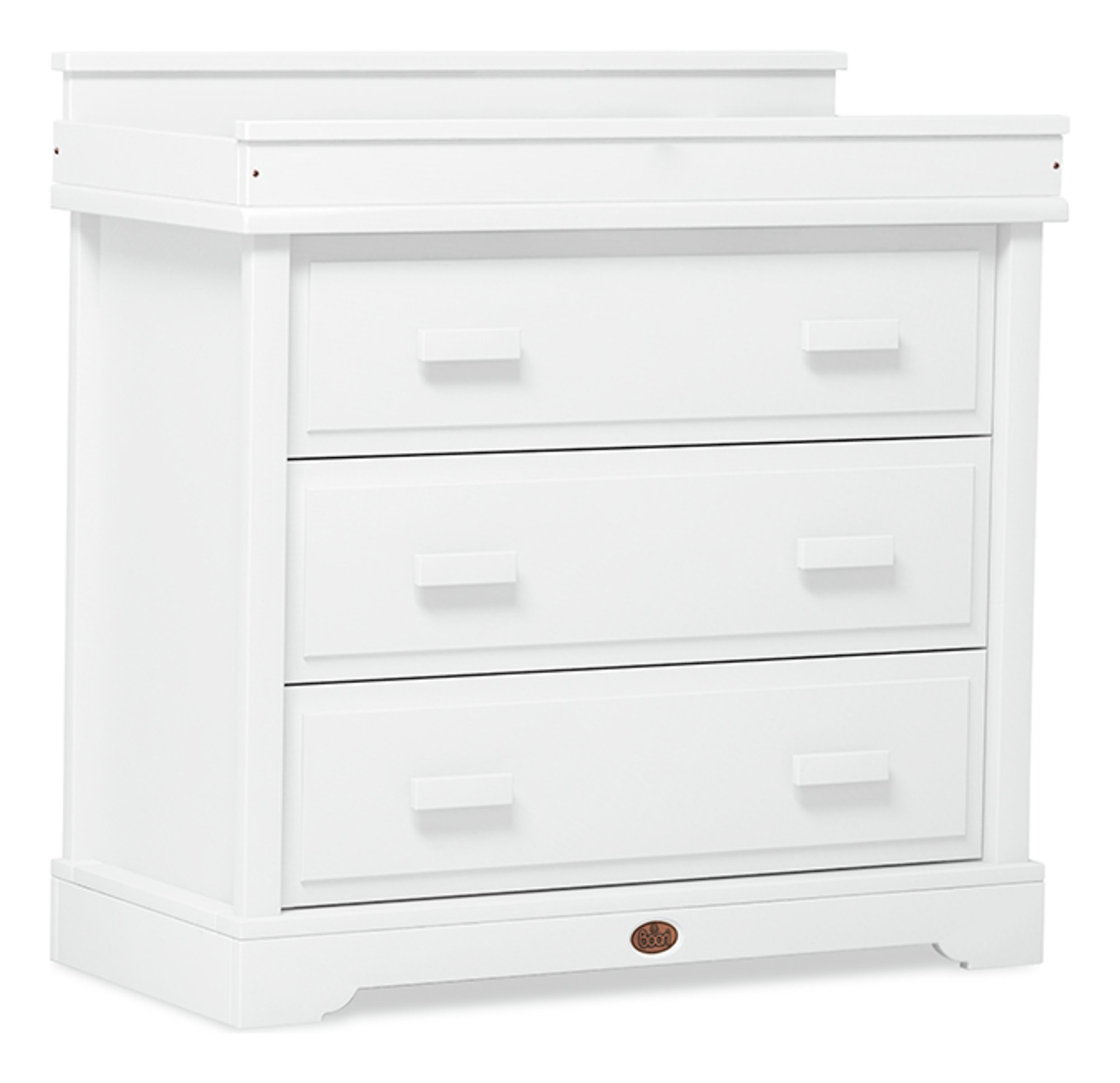 Universal 3 Drawer Dresser - White
