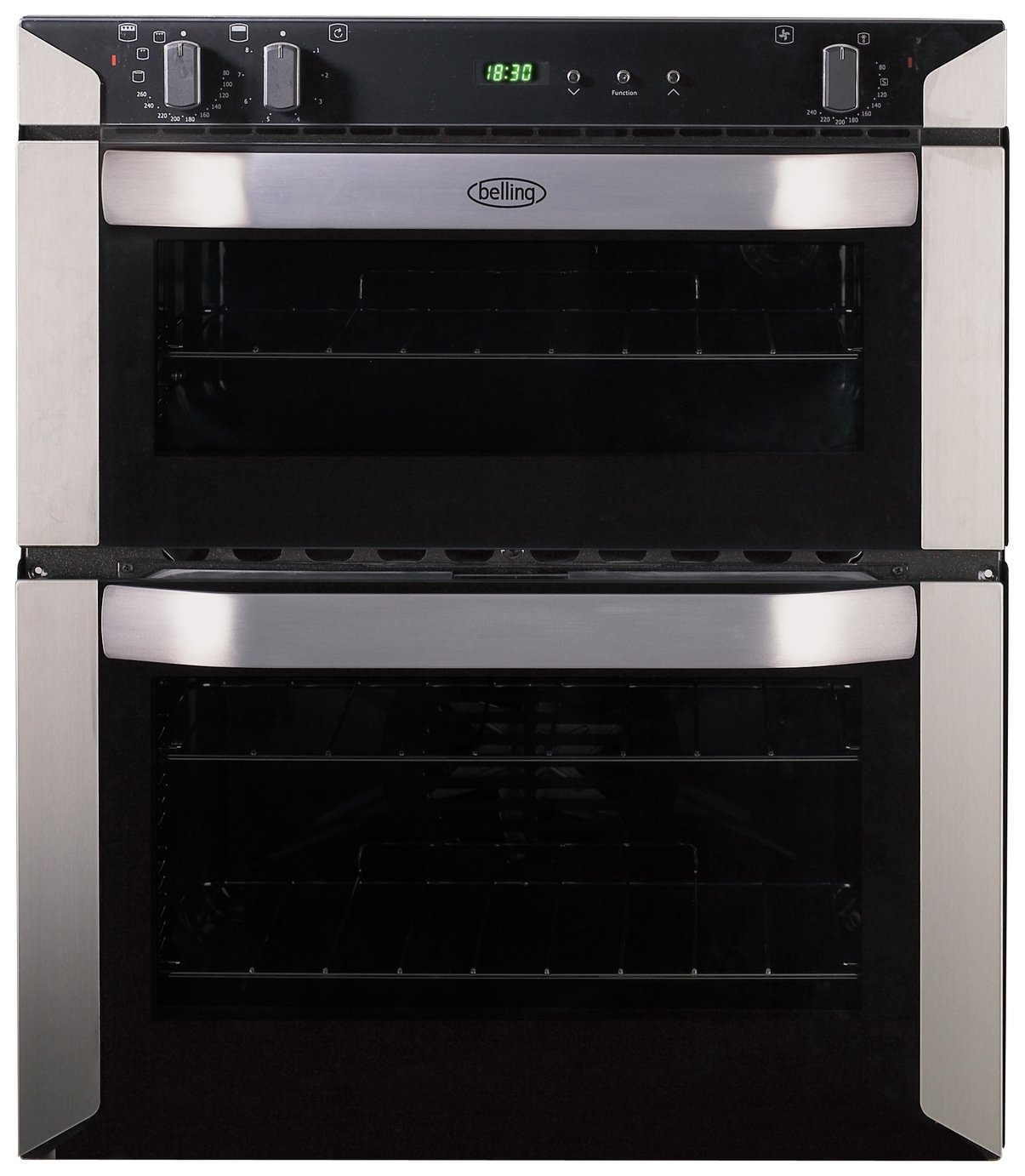 Image of Belling BI70FP Built-in Double Oven - Stainless Steel