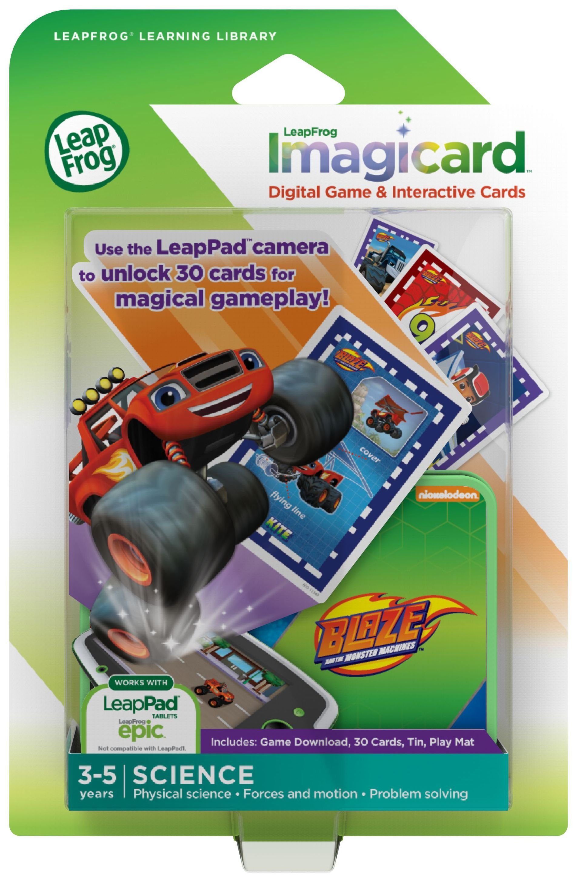 LeapFrog ImagiCard Software Blaze and the Monster Machines