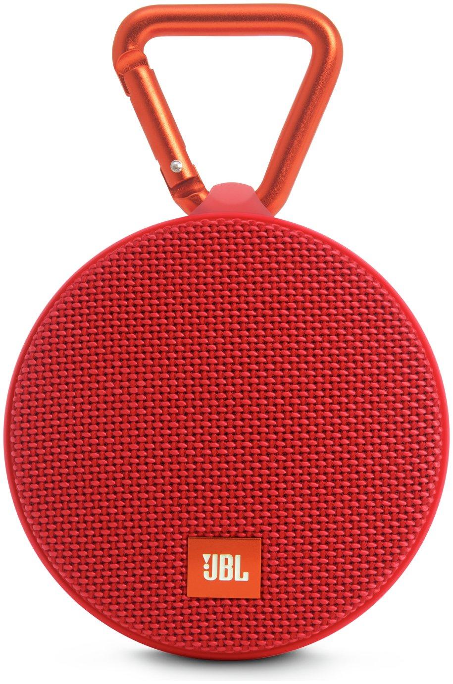 JBL Clip 2  Portable Wireless Speaker - Red