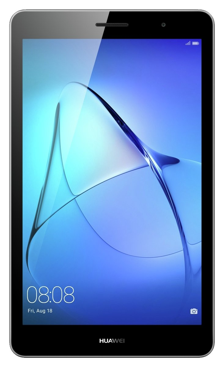 Image of Huawei MediaPad T3 8 Inch 16GB Tablet - Grey.