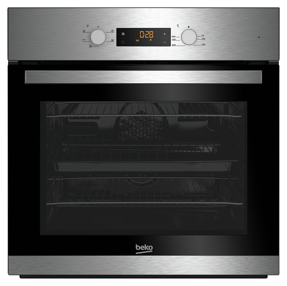 Image of Beko BAIF22300X Single Oven - Stainless Steel With Installation