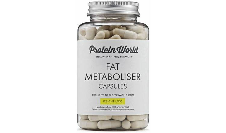 Buy Protein World Fat Metaboliser 90 Capsules Weight Loss Argos