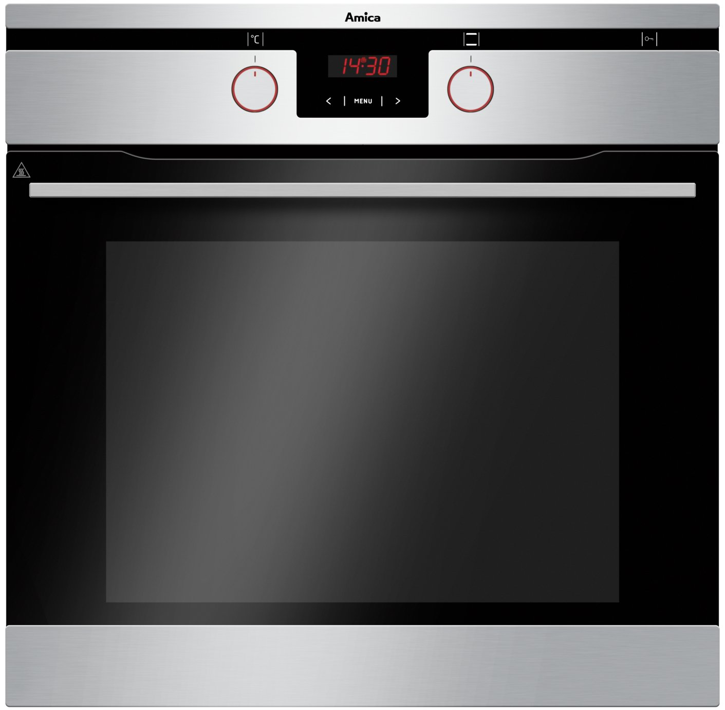 Image of Amica 11433TSXPYRO Built-In Oven - Stainless Steel.