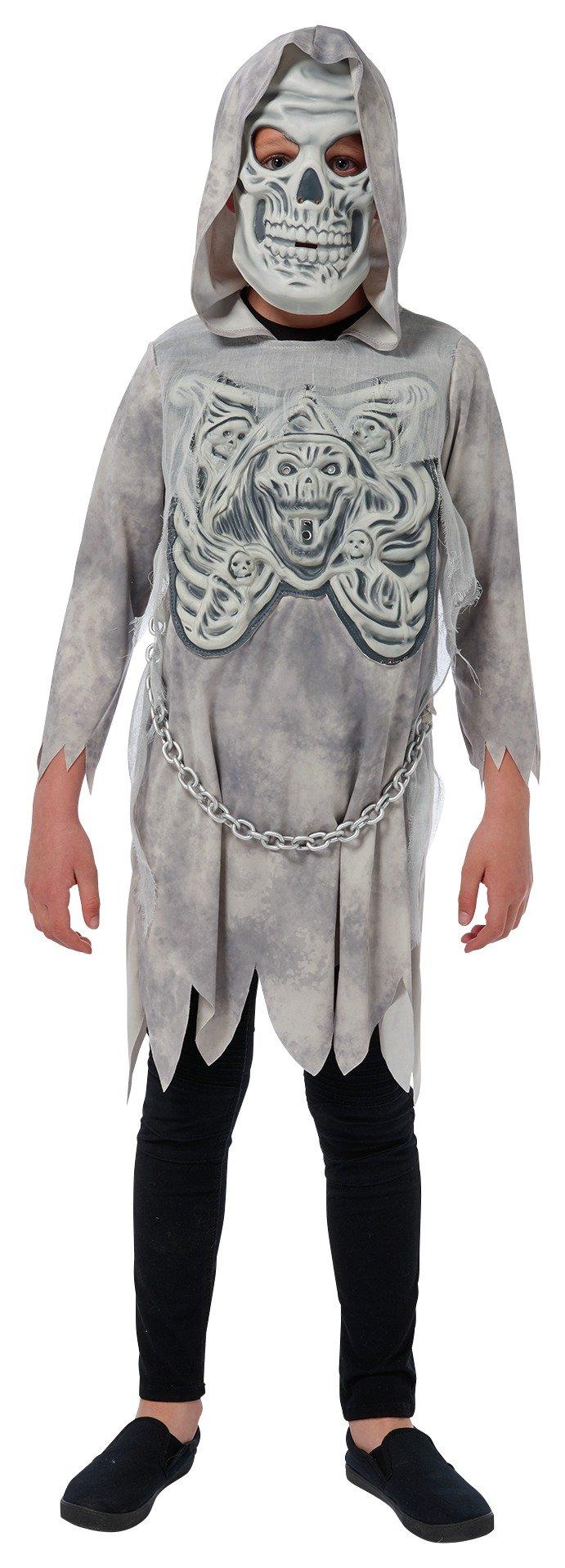 Image of Ghost Reaper Fancy Dress Costume - 7-8 Years.