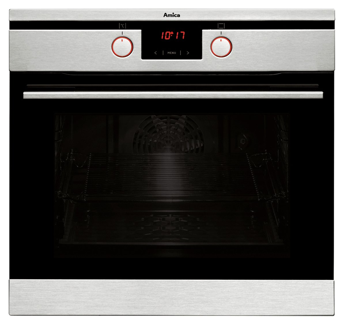 Image of Amica 11433TSX Built-In Oven - Stainless Steel.