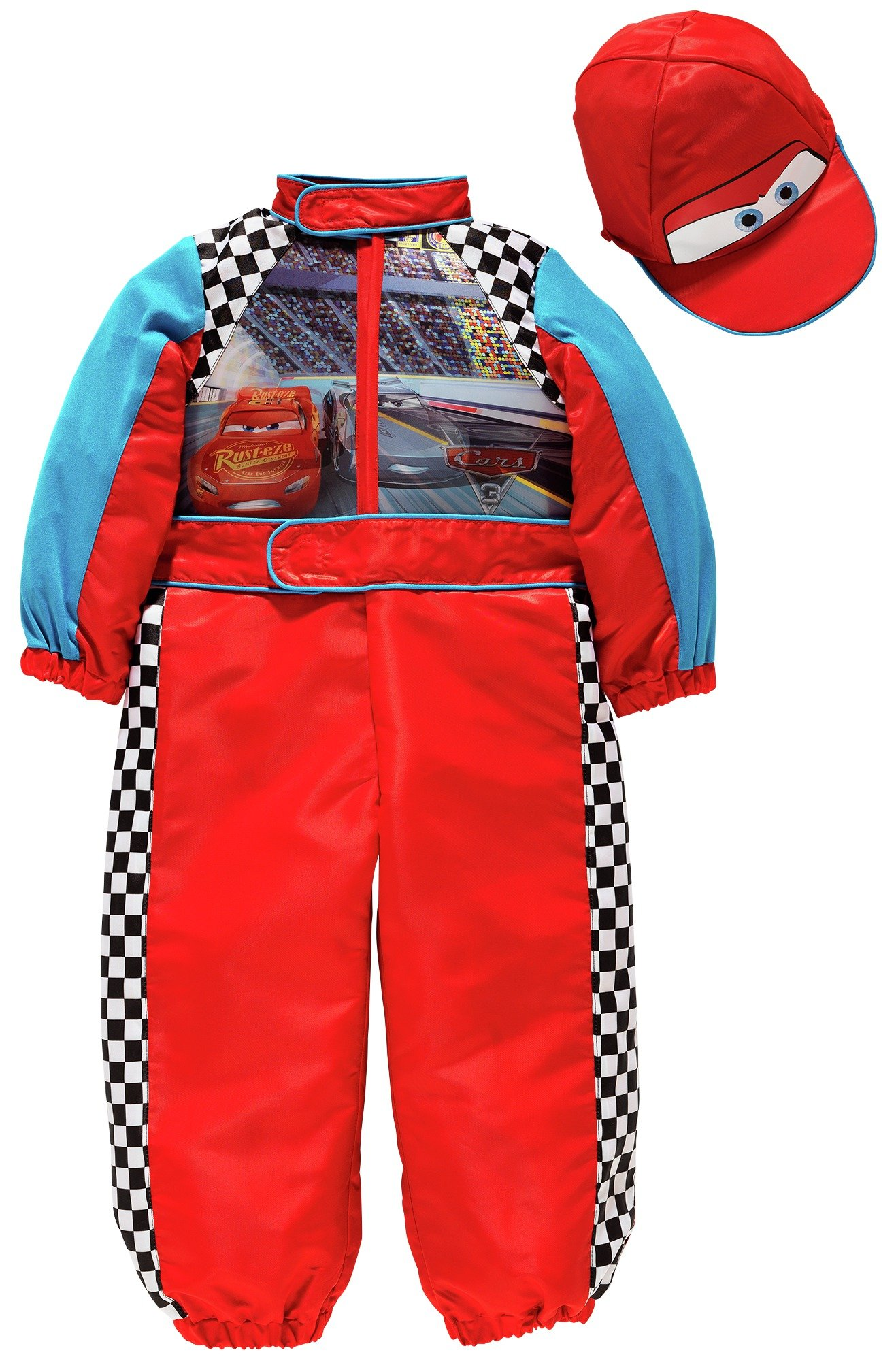 Disney Cars Racing Car Fancy Dress Costume - 5-6 Years