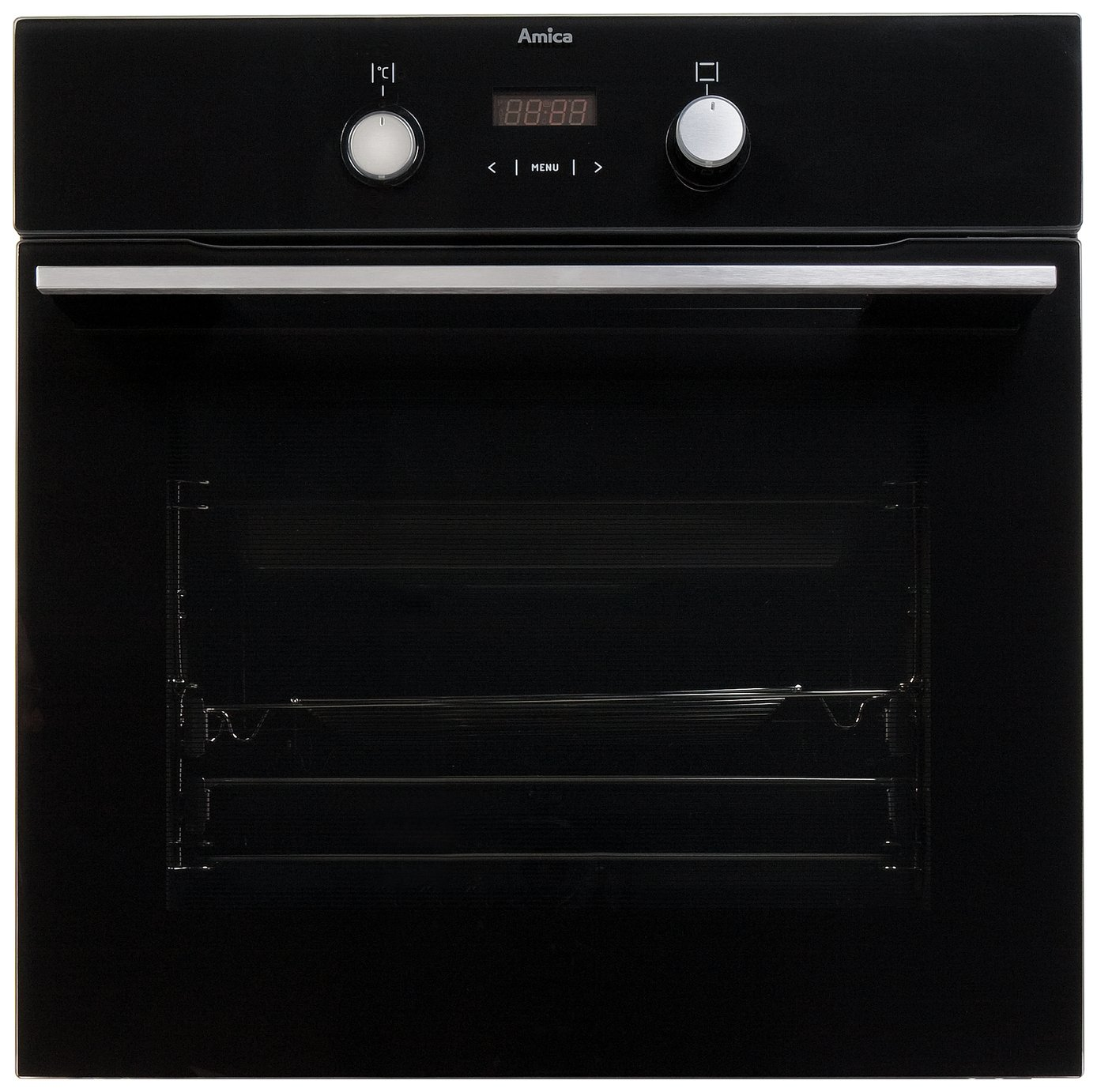 Image of Amica 11433TSB Built-In Oven - Black.