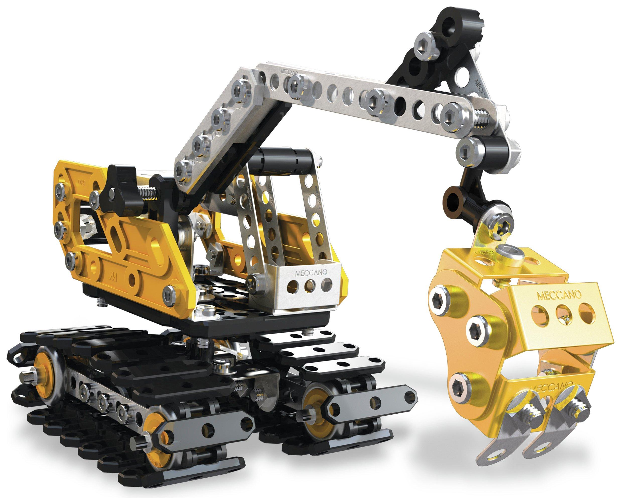 Meccano Excavator 2-in-1 Model Set.