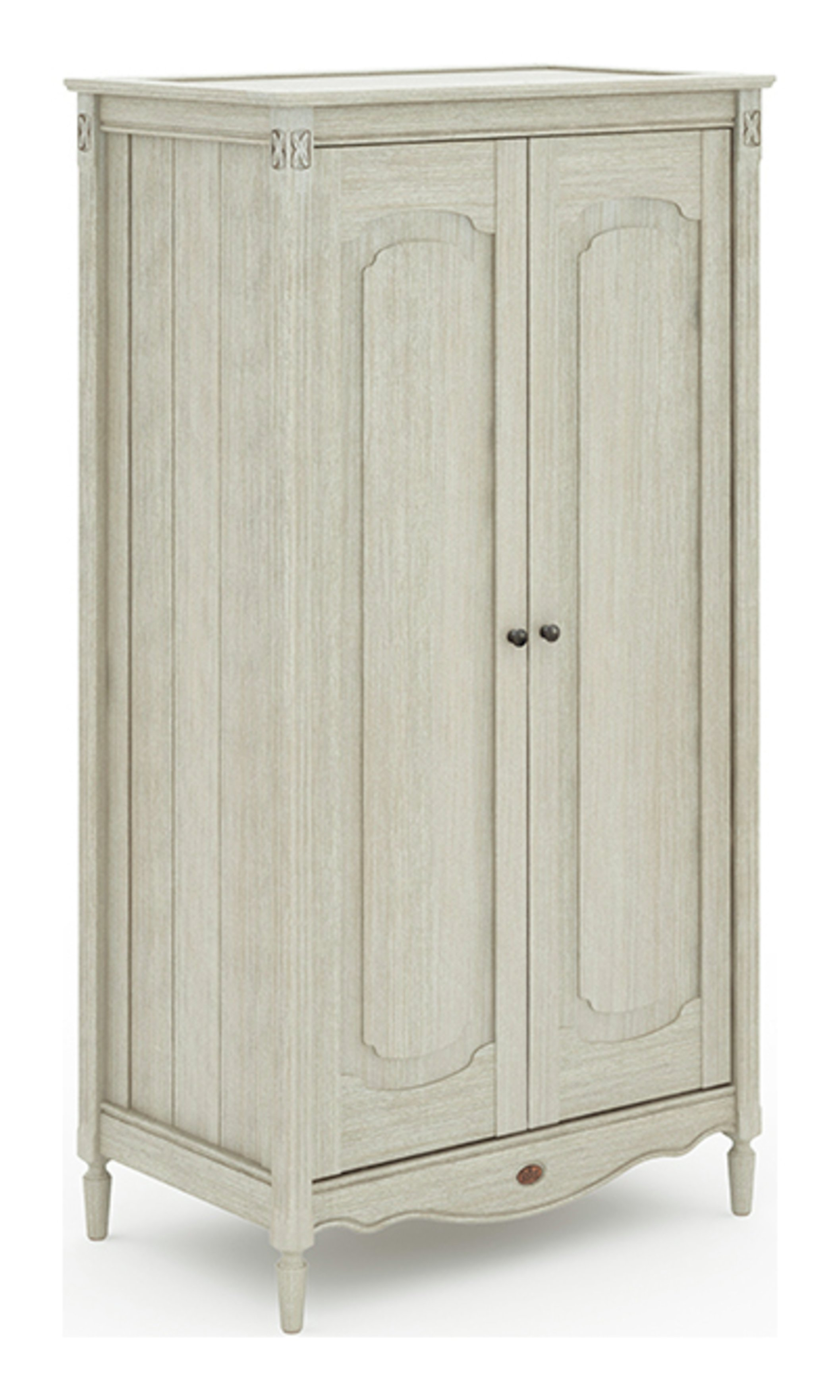 Grace Chest Wardrobe - Antiqued Grey