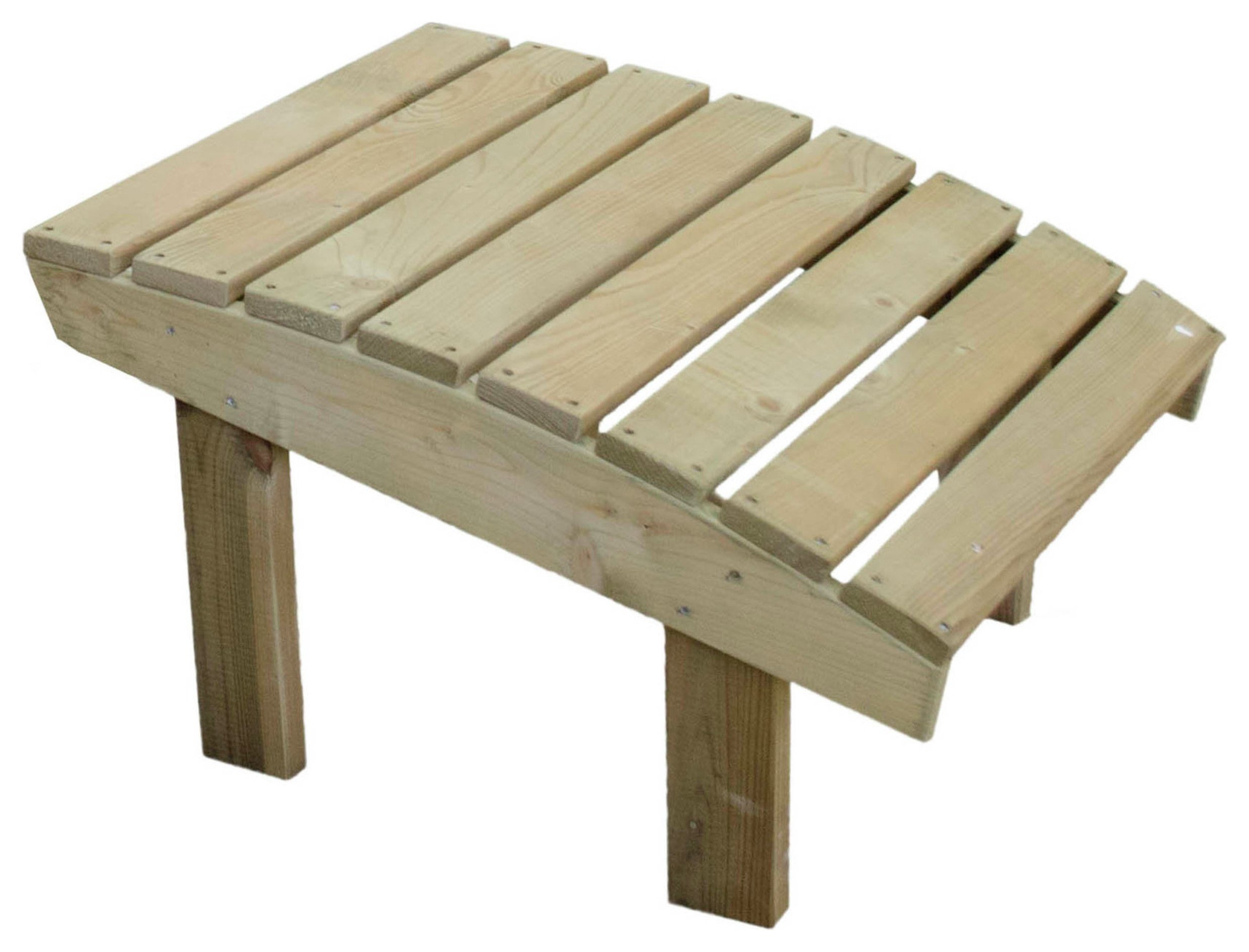 Forest Saratoga Wooden Footstool
