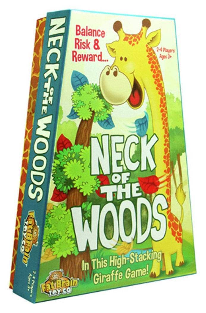 Fat Brain Toys Neck of the Woods Game.