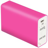 Juice Squash - XL 5600mAh Portable Power - Bank - Pink