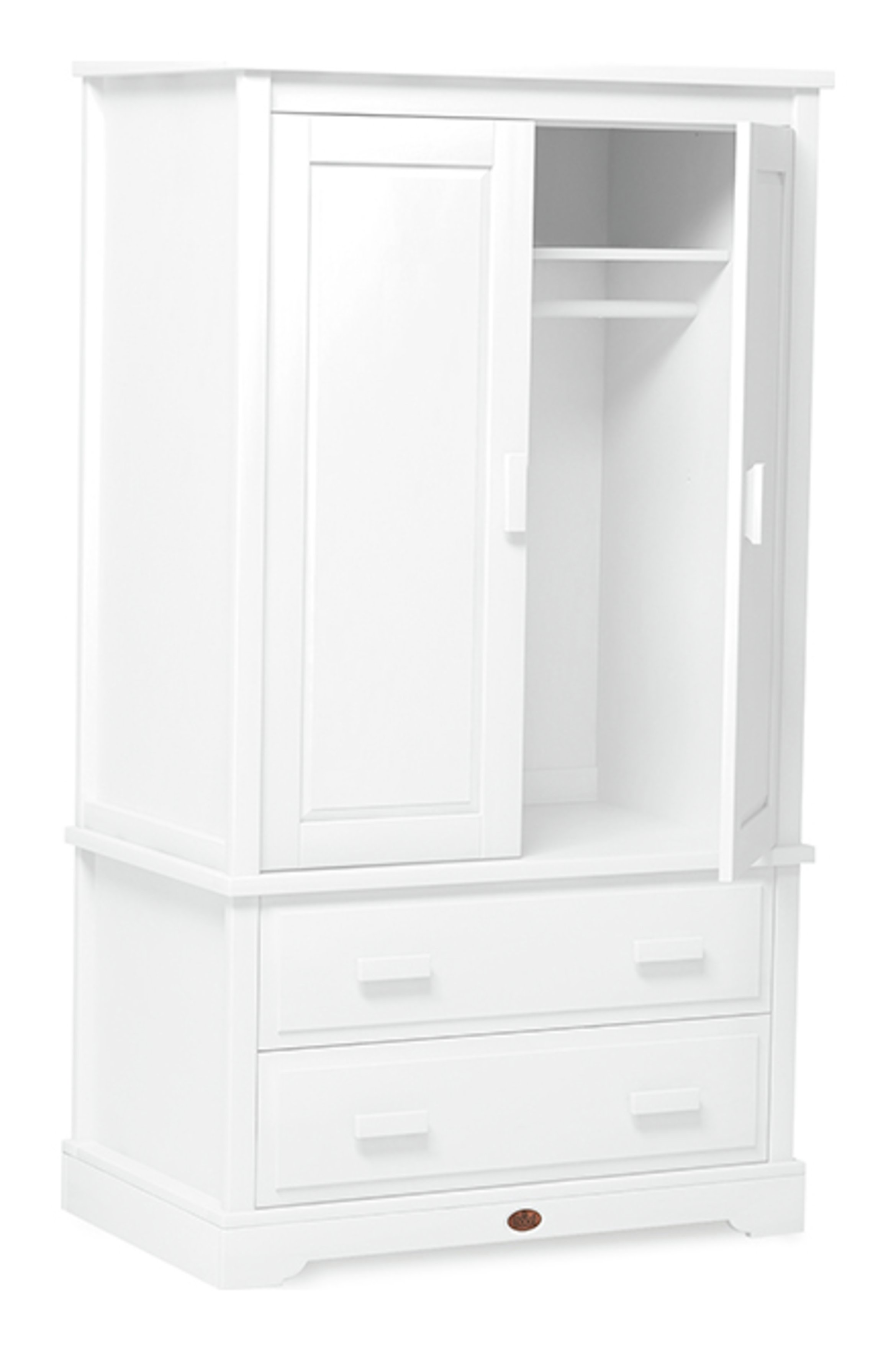boori Universal Wardrobe - White
