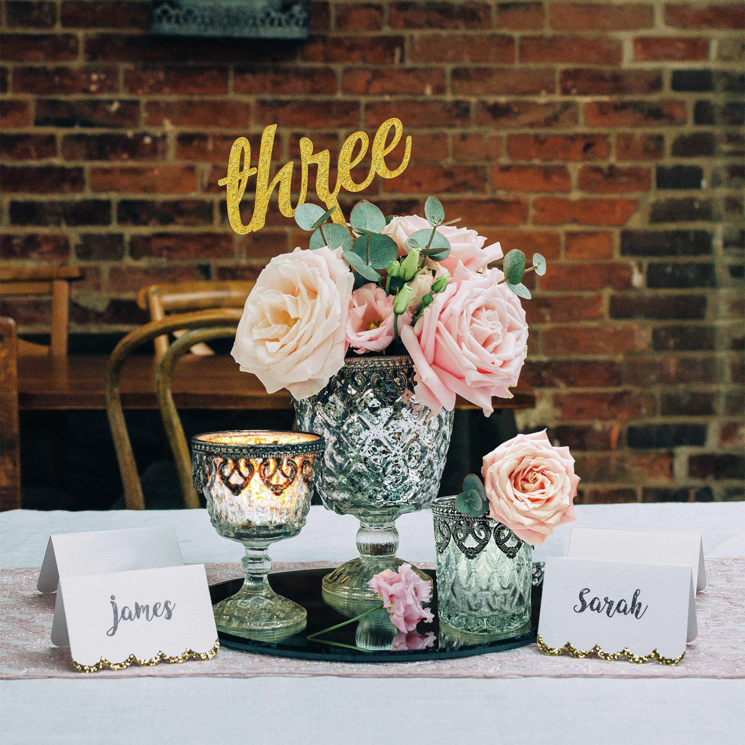 Vintage Luxury Wedding Table Centerpiece Set