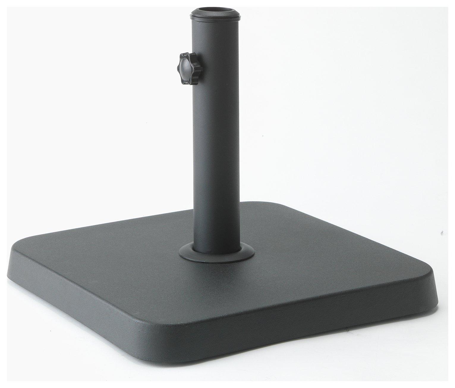 Argos Home Concrete Parasol Base - Black