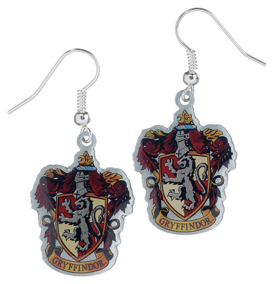 Image of Harry Potter Gryffindor Crest Earrings