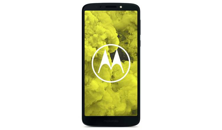 Buy SIM Free Motorola Moto G6 Play 32GB Mobile - Deep Indigo | SIM free  phones | Argos