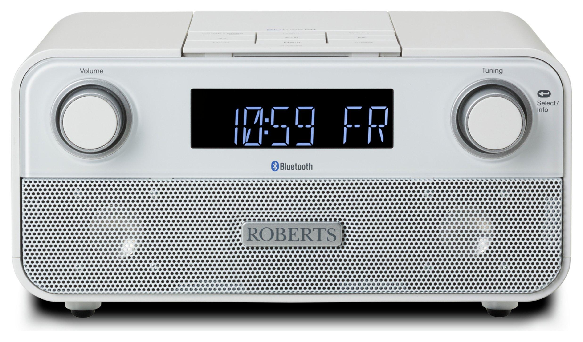Roberts BluTune 50 Bluetooth FM / DAB / DAB+ Clock Radio