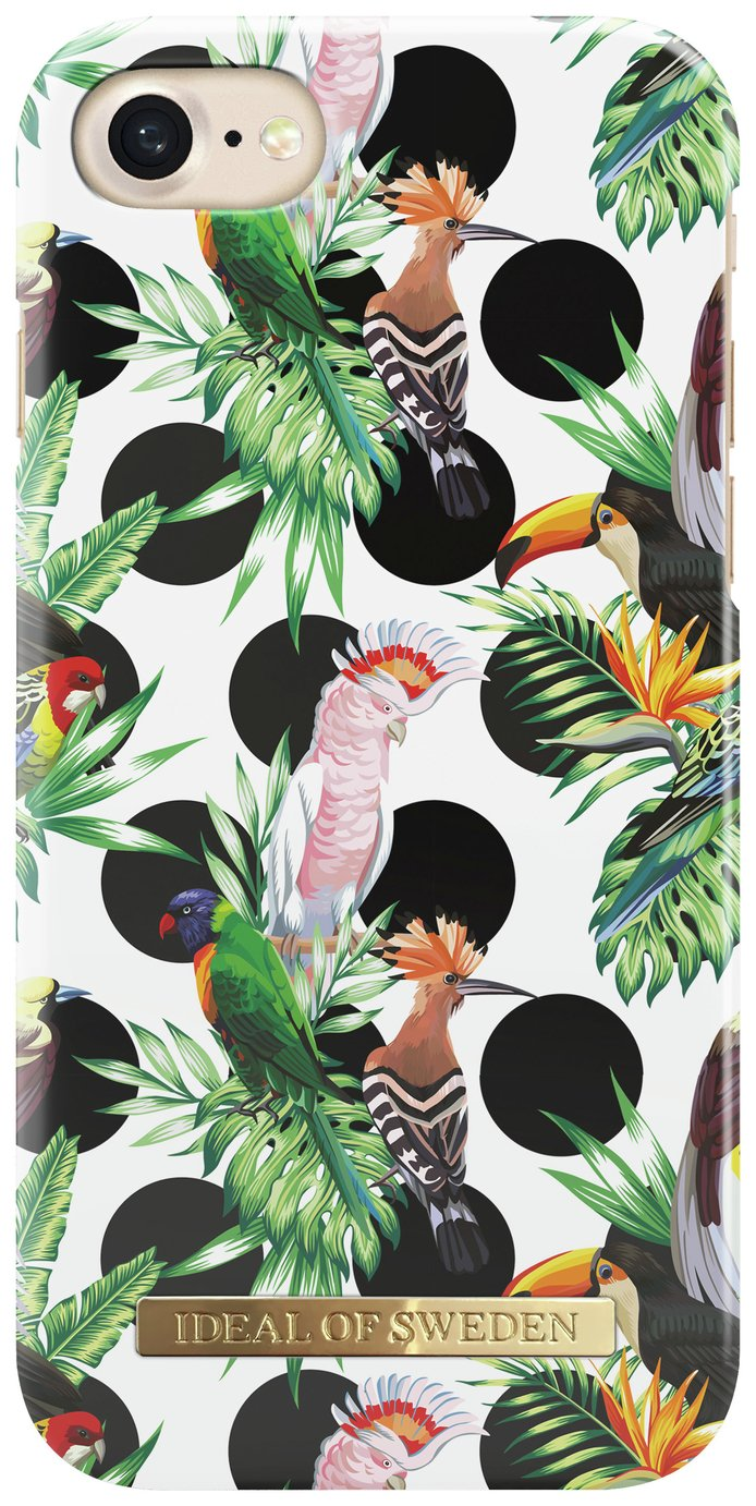 Image of iDeal iPhone 6/6S/7/8 Hard Shell Case - Tropical Dot.