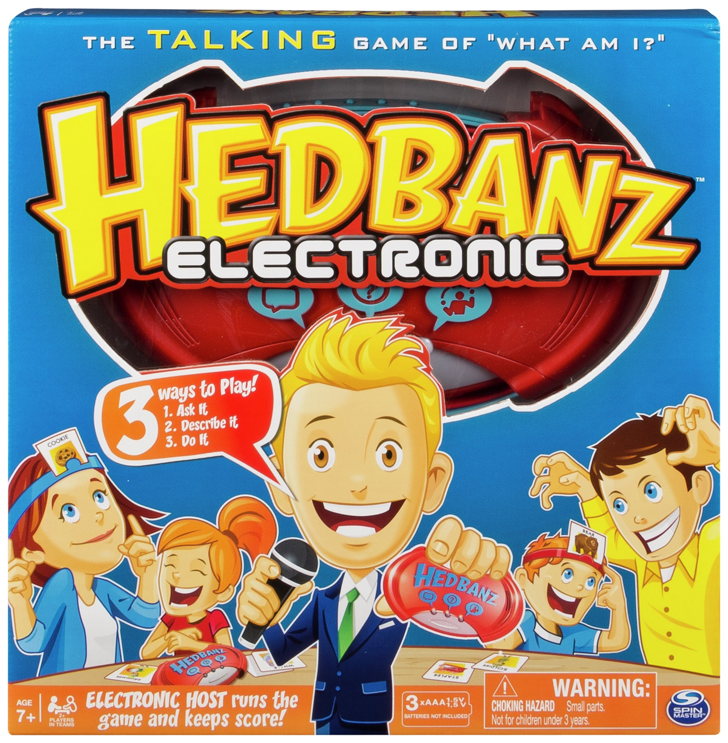 Image of Hedbanz Electronic Game.