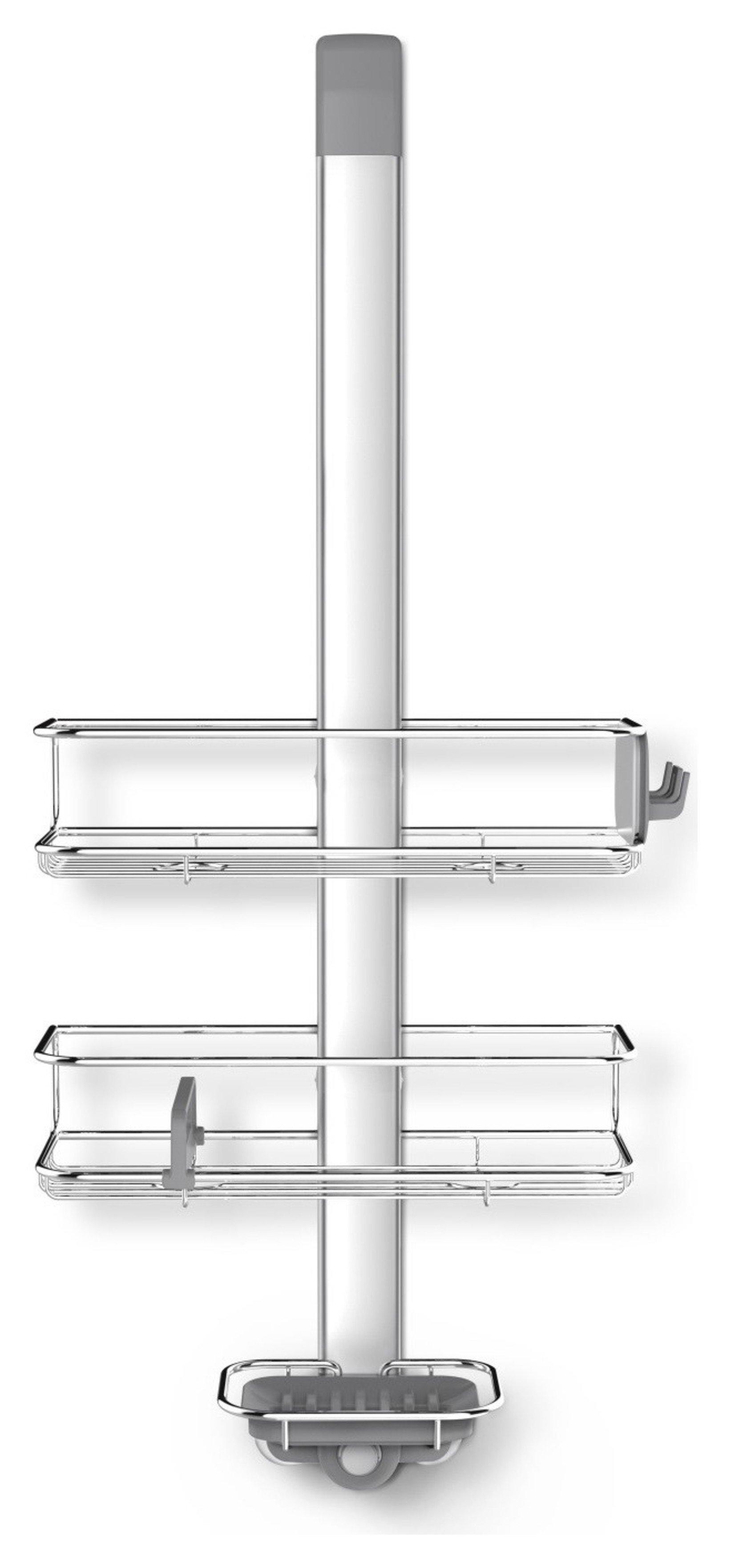 simplehuman Aluminium Over Door Shower Caddy (7430910) | Argos Price ...