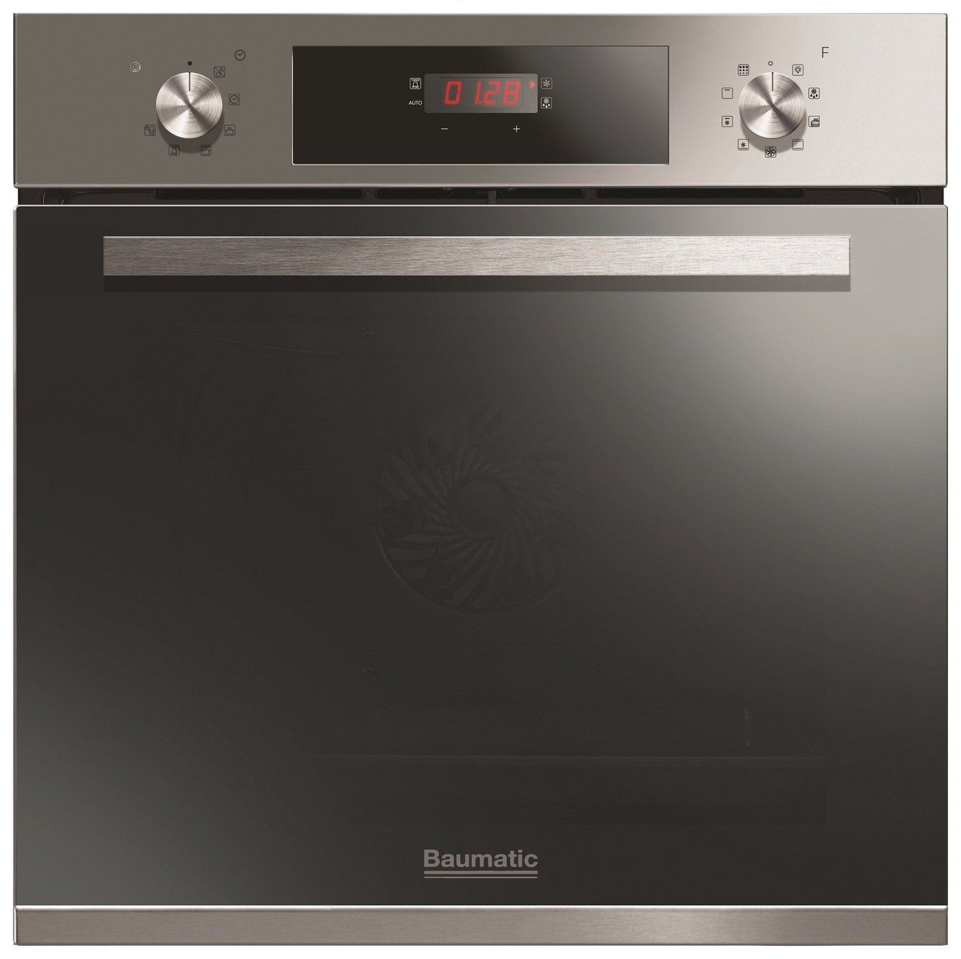 Image of Baumatic BOPT609X Pyrolytic Electric Oven - Stainless Steel