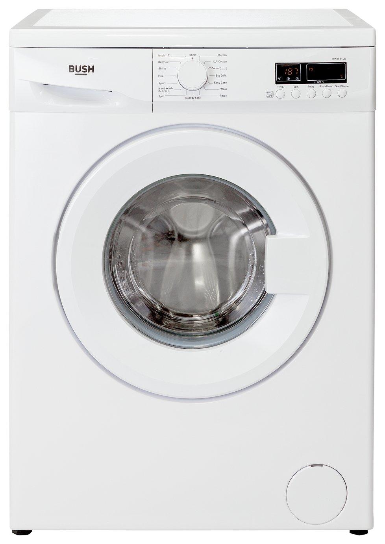 'Bush Wmdf814w 8kg 1400 Spin Washing Machine - White