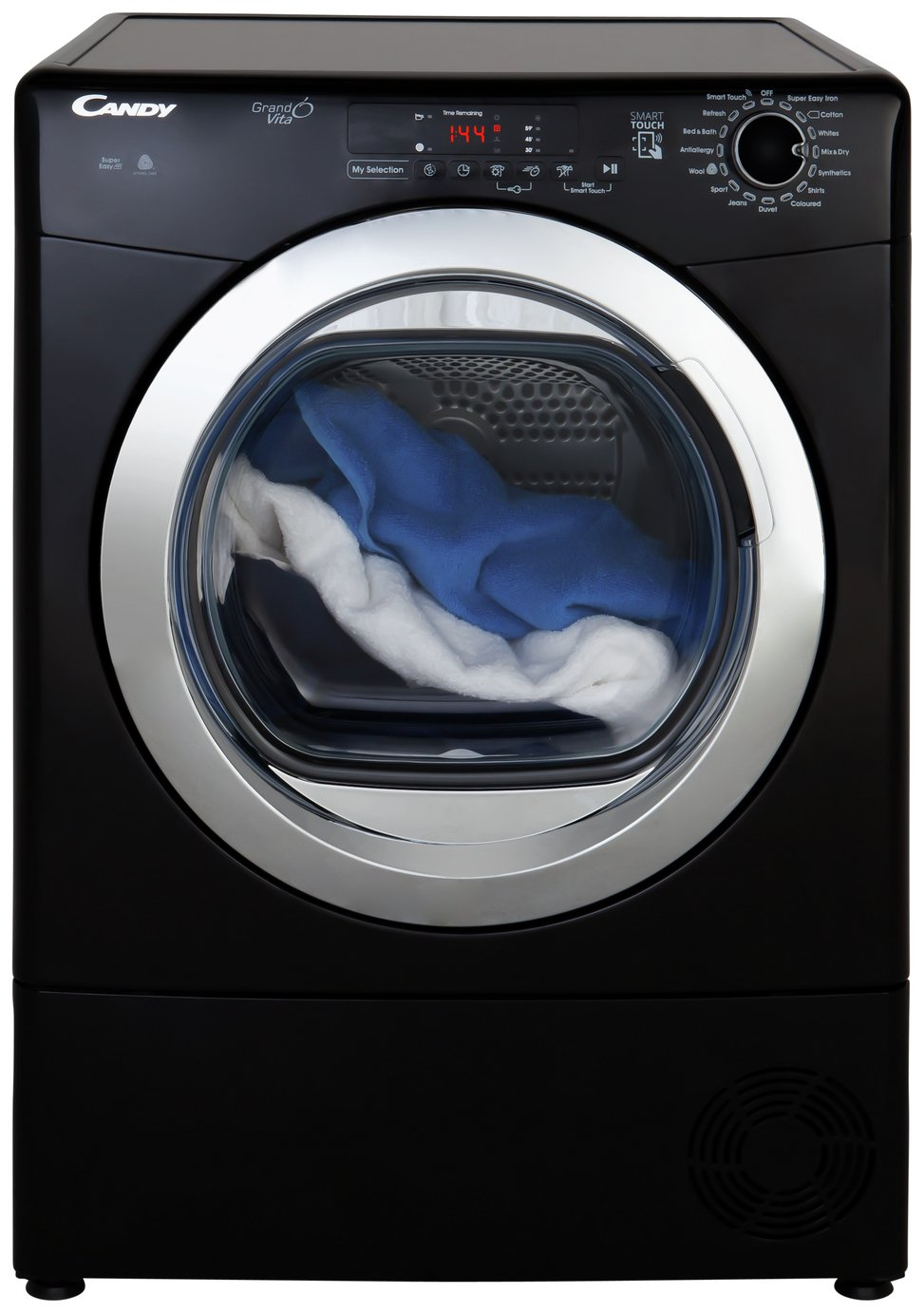 Candy GVS C10DCGB 10KG Condenser Tumble Dryer - Black