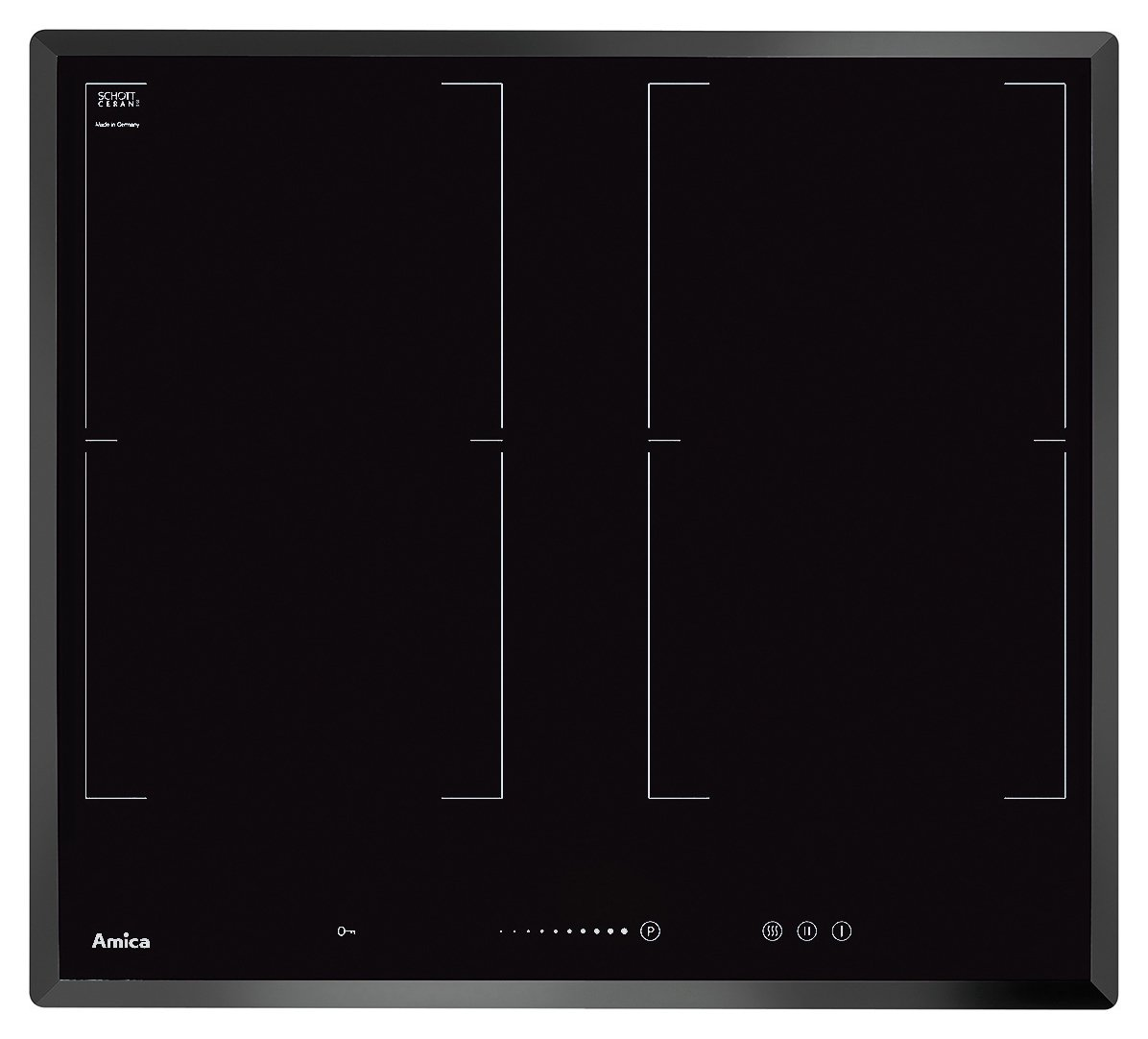 Amica PI6544STK Induction Hob - Black