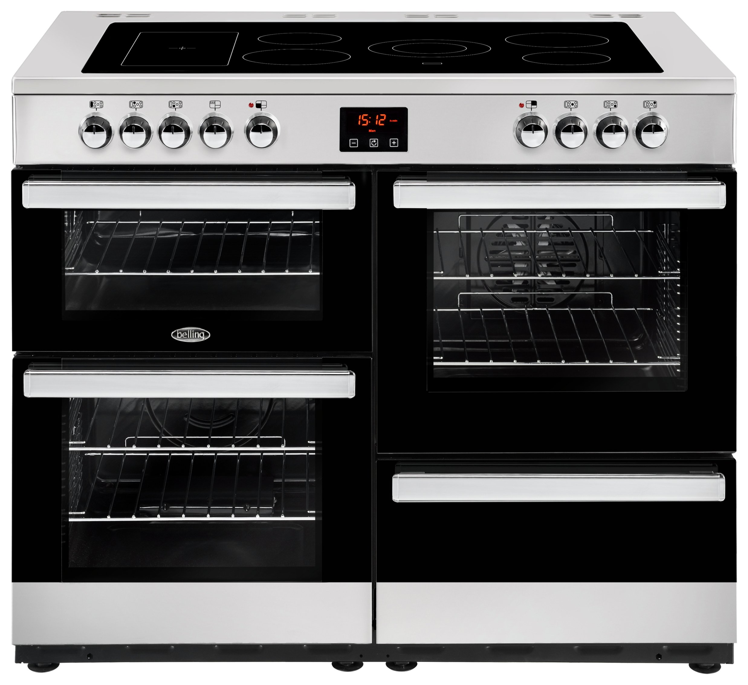 Belling Cookcentre 110E Electric Range Cooker - S/ Steel
