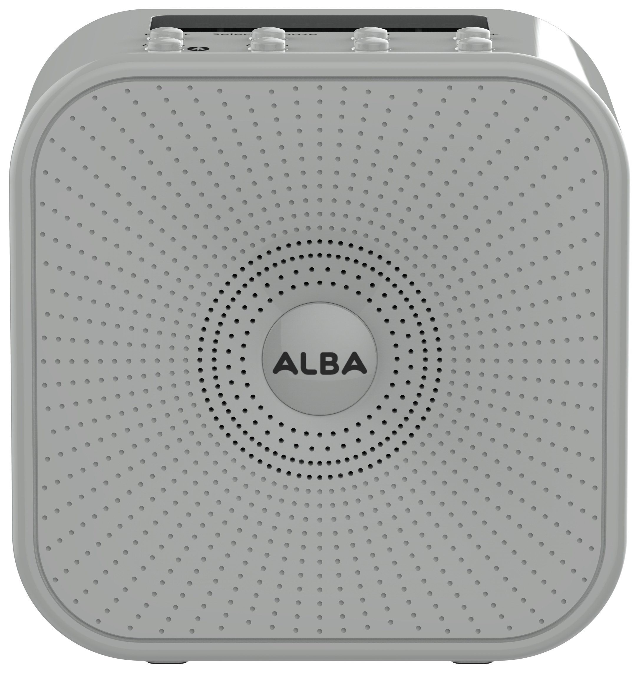 'Alba Wireless Dab Radio - Grey