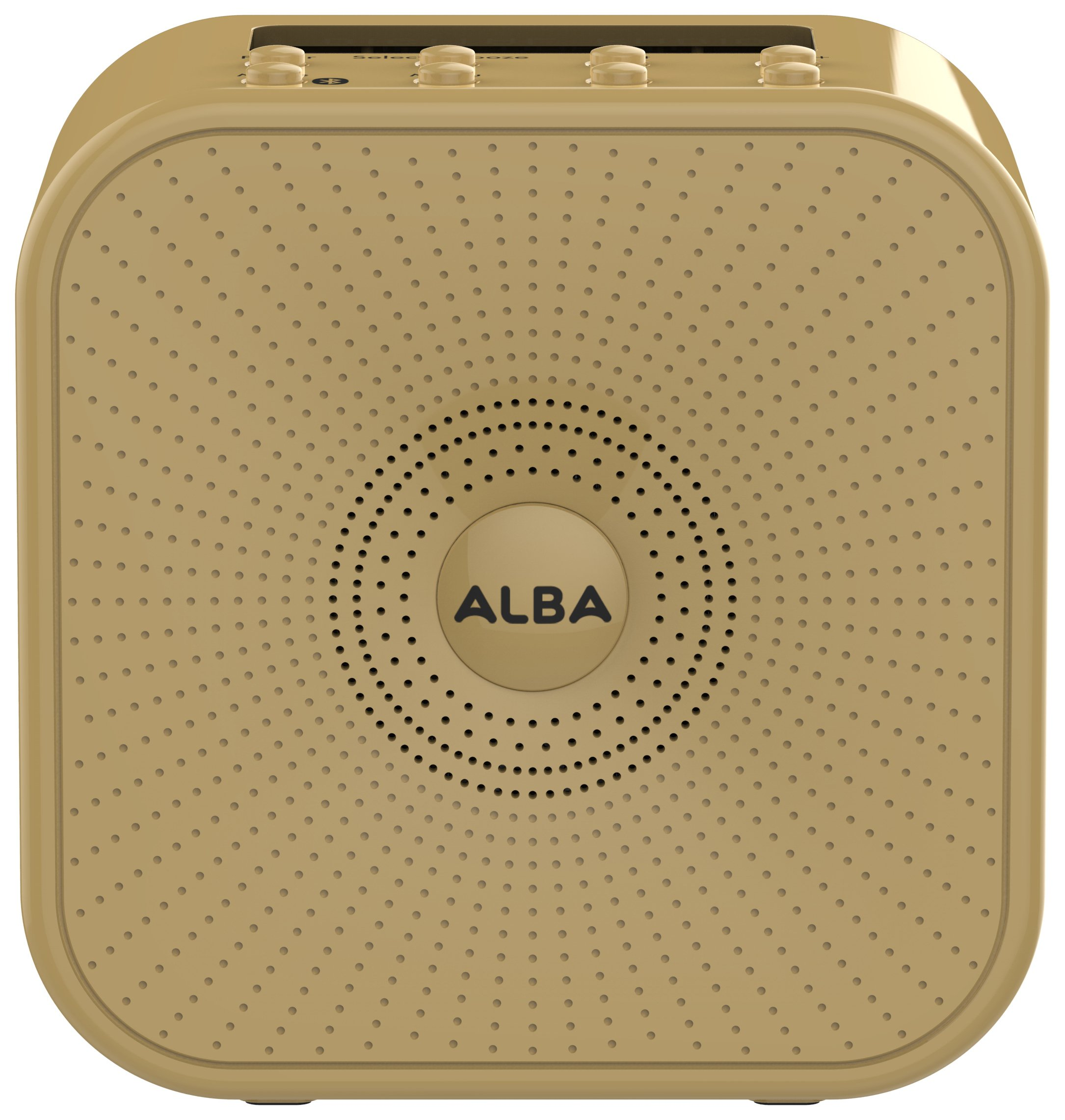 'Alba Wireless Dab Radio - Mustard