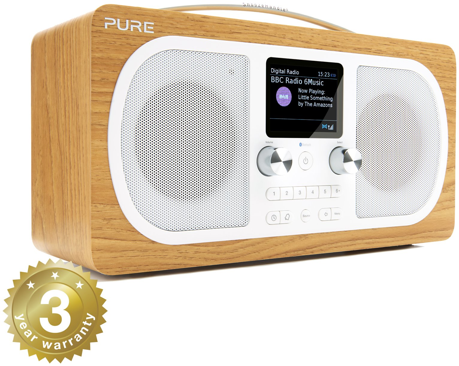 pure evoke h6 dab radio 7432781 argos price tracker. Black Bedroom Furniture Sets. Home Design Ideas