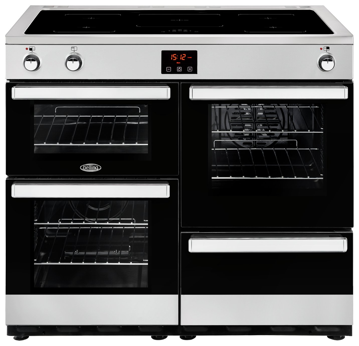 Belling Cookcentre 110EI 100cm Electric Range Cooker - SS