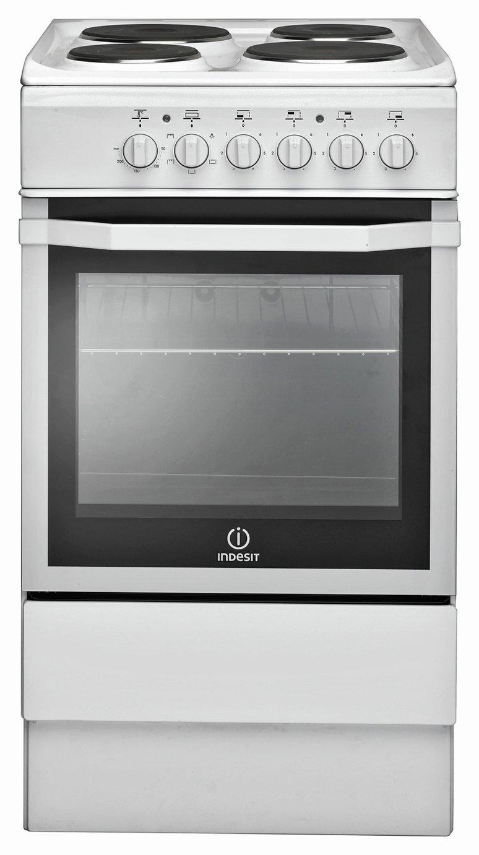 indesit i5eshw single electric cooker white 7433168. Black Bedroom Furniture Sets. Home Design Ideas
