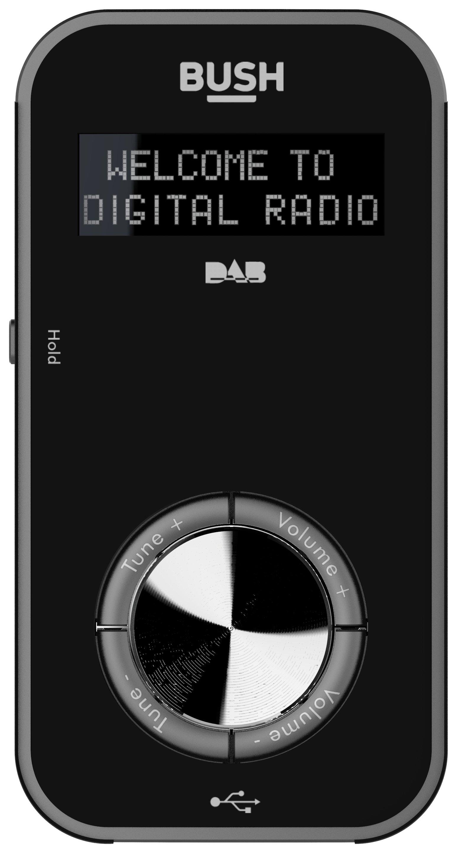'Bush Personal Dab Radio - Black