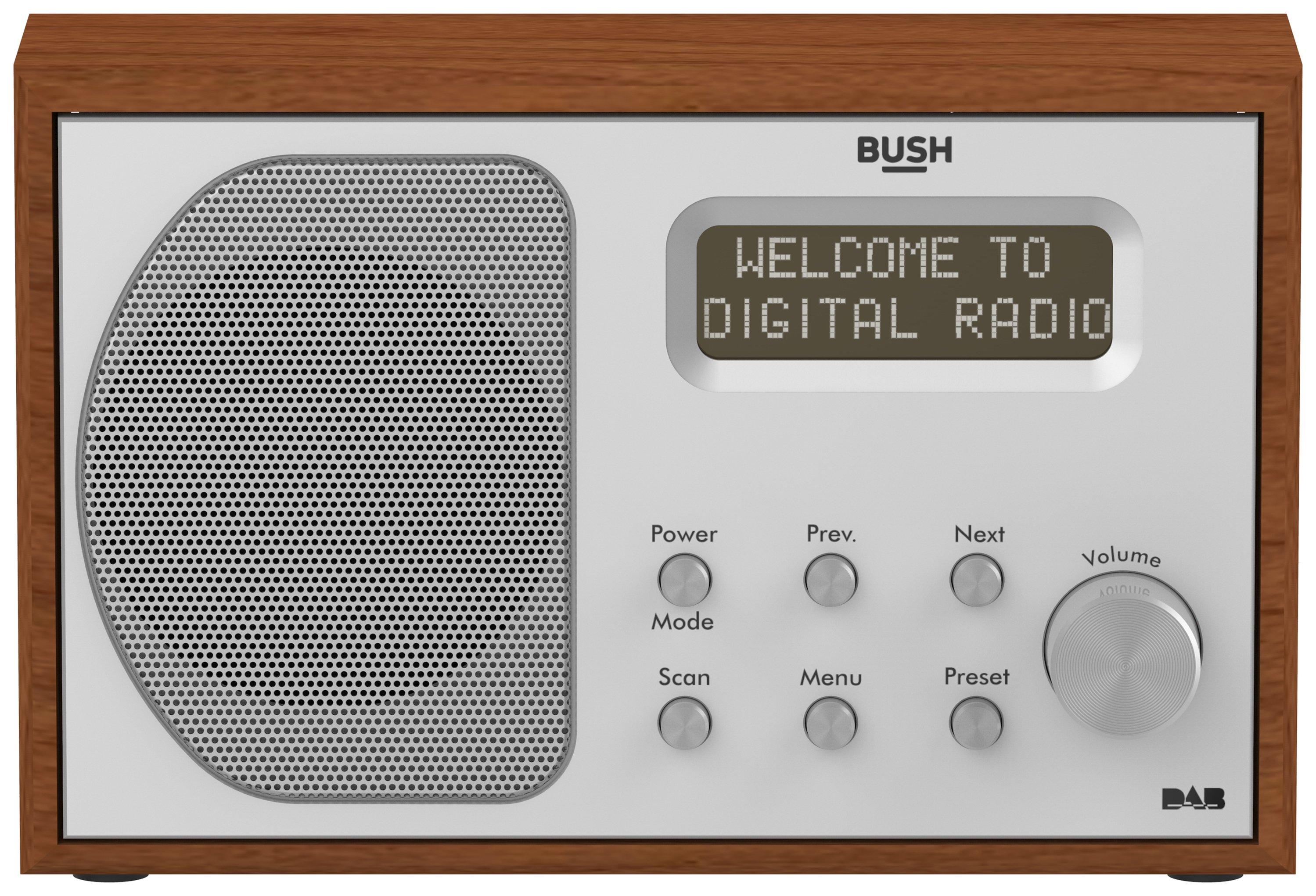 'Bush Wooden Dab Radio