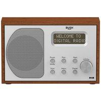 Bush Wooden DAB Radio