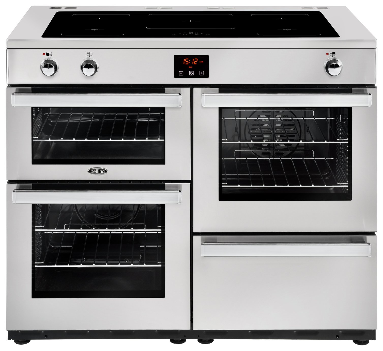 Belling Cookcentre 110EI Pro Electric Range Cooker - SS