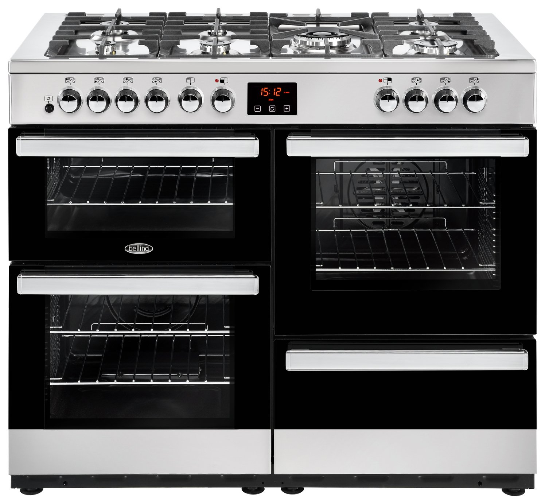 Belling Cookcentre 110DFT 110cm Range Cooker - S/ Steel